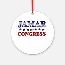 JAMAR for congress Ornament (Round)