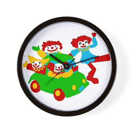 Clown Car Wall Clock