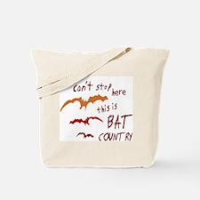 Bat Country Tote Bag