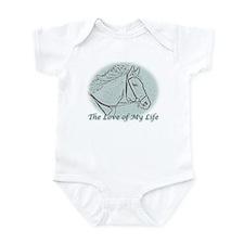 White Horse Love Infant Bodysuit
