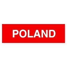 Poland Bumper Stickers