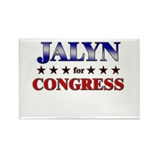 JALYN for congress Rectangle Magnet