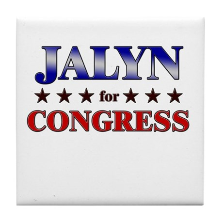 JALYN for congress Tile Coaster