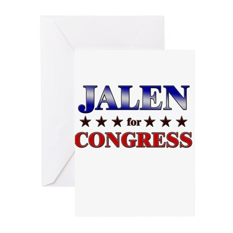 JALEN for congress Greeting Cards (Pk of 10)