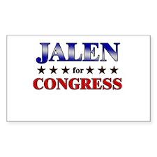 JALEN for congress Rectangle Decal