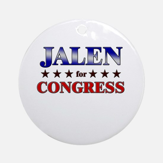 JALEN for congress Ornament (Round)