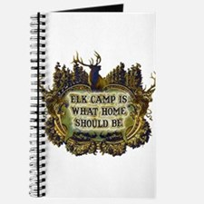 Elk camp is what home should Journal
