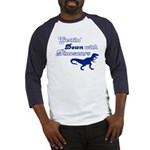 Gettin' Down With Dinosaurs Baseball Jersey