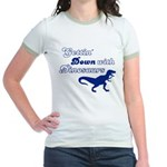 Gettin' Down With Dinosaurs Jr. Ringer T-Shirt