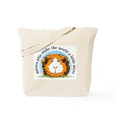 Guinea pigs make the world... Tote Bag