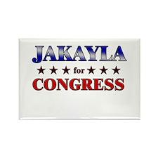 JAKAYLA for congress Rectangle Magnet