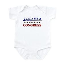 JAKAYLA for congress Infant Bodysuit