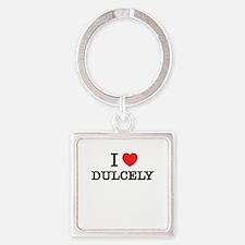 I Love DUCKIES Keychains