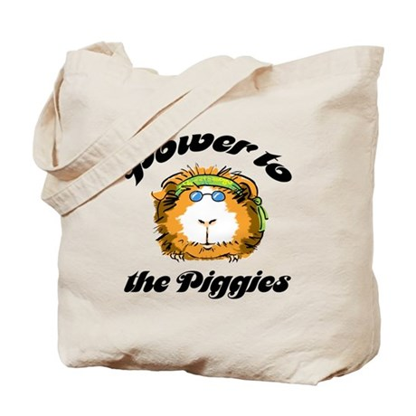 Power to the Piggies Tote Bag