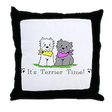 Deedle designs Throw Pillow