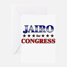 JAIRO for congress Greeting Card
