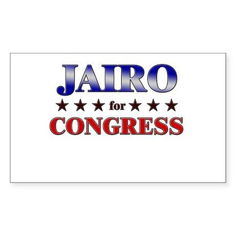 JAIRO for congress Rectangle Sticker
