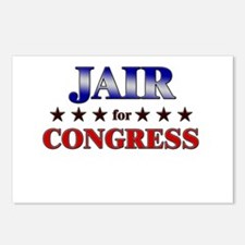 JAIR for congress Postcards (Package of 8)