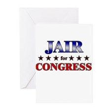 JAIR for congress Greeting Cards (Pk of 20)