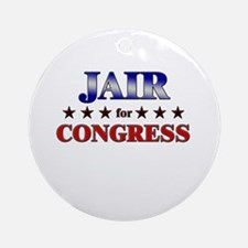 JAIR for congress Ornament (Round)