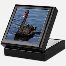 Funny Swans Keepsake Box