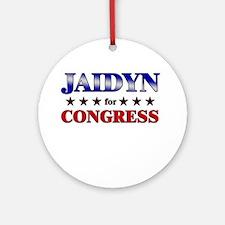 JAIDYN for congress Ornament (Round)