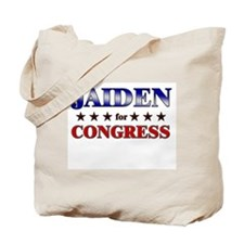 JAIDEN for congress Tote Bag