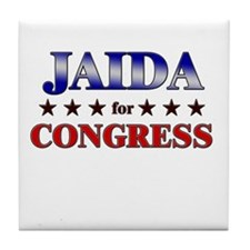 JAIDA for congress Tile Coaster