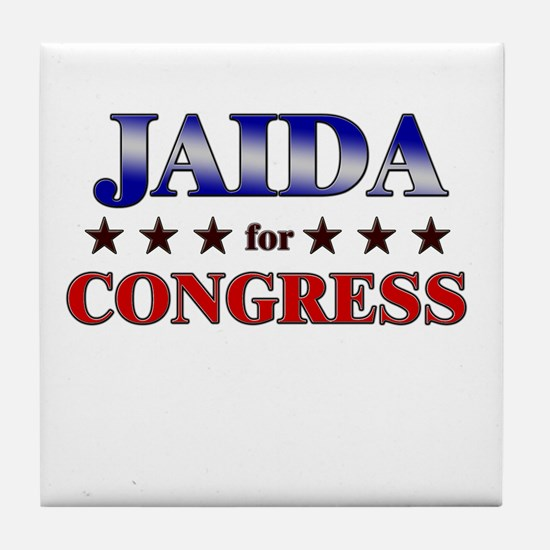 JAIDA for congress Tile Coaster