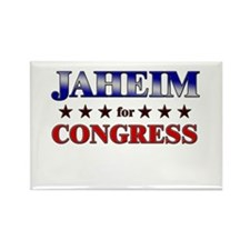 JAHEIM for congress Rectangle Magnet