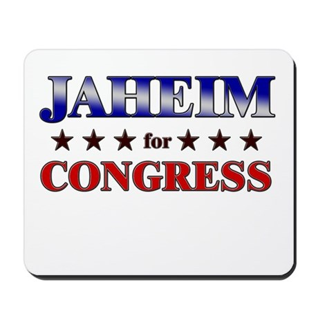 JAHEIM for congress Mousepad