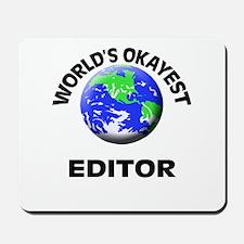 World's Okayest Editor Mousepad