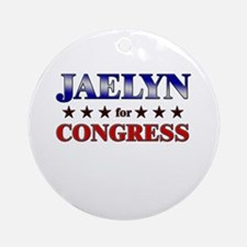JAELYN for congress Ornament (Round)
