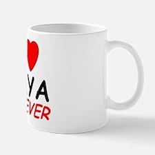 I Love Amya Forever - Small Small Mug