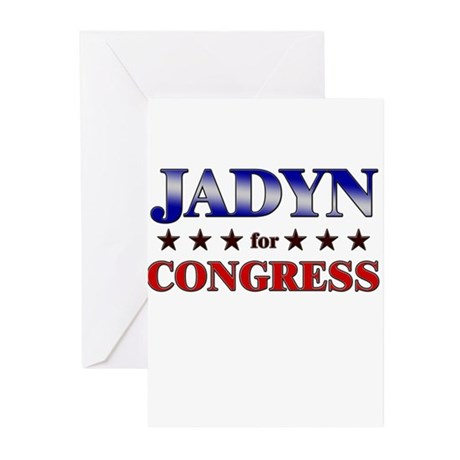 JADYN for congress Greeting Cards (Pk of 10)