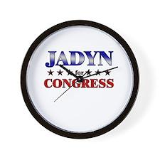 JADYN for congress Wall Clock
