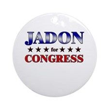 JADON for congress Ornament (Round)
