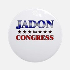 JADON for congress Ornament (Round)
