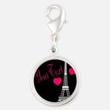 Paris France Eiffel Tower Charms