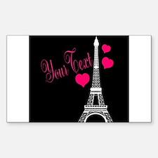 Paris France Eiffel Tower Decal