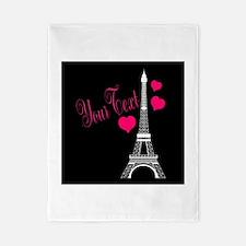 Paris France Eiffel Tower Twin Duvet