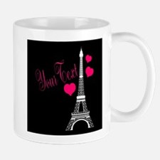 Paris France Eiffel Tower Mugs