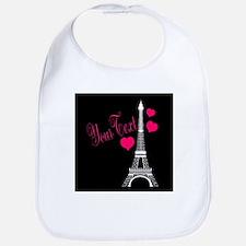 Paris France Eiffel Tower Bib