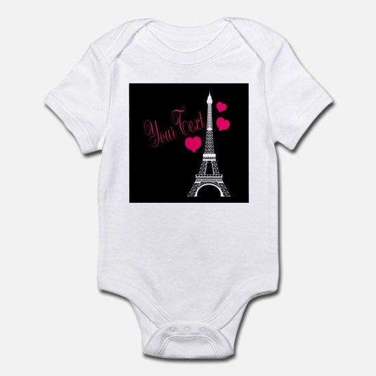 Paris France Eiffel Tower Body Suit