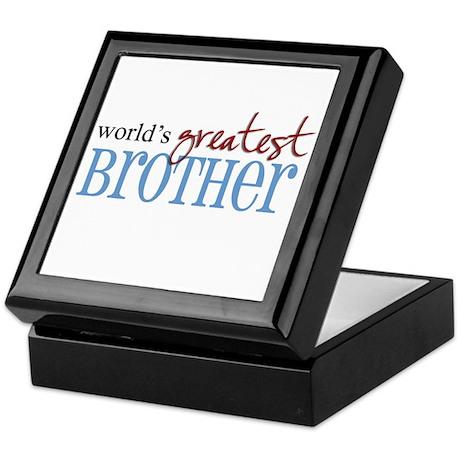 World's Greatest Brother Keepsake Box