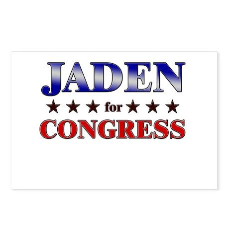 JADEN for congress Postcards (Package of 8)