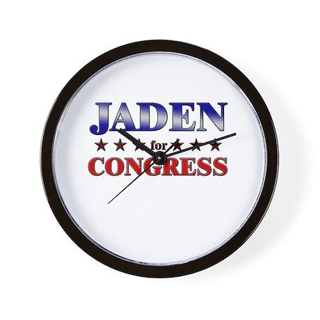 JADEN for congress Wall Clock