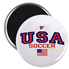 "USA American Soccer 2.25"" Magnet (10 pack)"