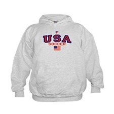 USA American Soccer Hoodie