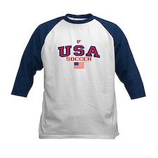 USA American Soccer Tee